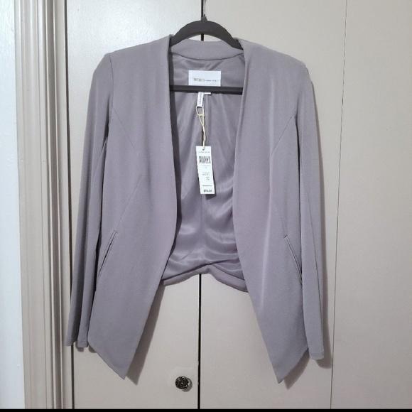 e269c53c0e1 BCBGeneration Jackets & Coats | Nwt Gray Tuxedo Blazer | Poshmark